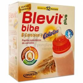 BLEVIT PLUS BIBE 8 CEREALES Y COLACAO POLVO 600G