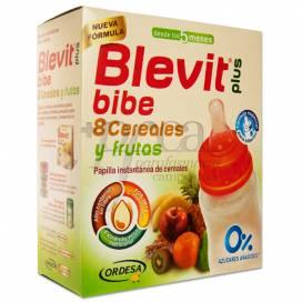 BLEVIT PLUS BIBE 8 CEREALES CON FRUTAS 600 G