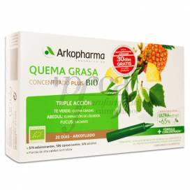ARKOFLUIDO QUEMAGRASA 20 AMPOULES