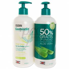 ISDIN GERMISDIN ALOE 2X500ML PROMO