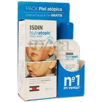ISDIN NUTRATOPIC PRO-AMP FACE 50ML + GEL 100ML PROMO