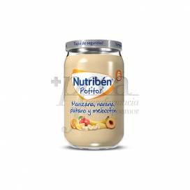 NUTRIBEN MANZANA NARANJA PLATANO Y MELOCOTON 235 G
