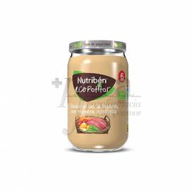 NUTRIBEN ECOPOTITOS VEGETABLES WITH BEEF 235 G