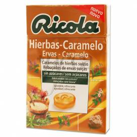 RICOLA CARAMELOS HIERBAS - CARAMELO 50 G