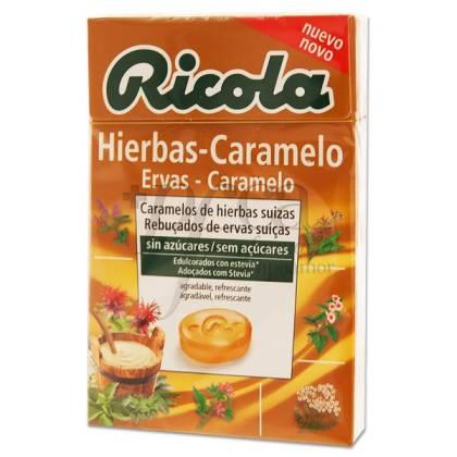 RICOLA CARAMELOS SIN AZUCAR HIERBAS SUIZAS 50G