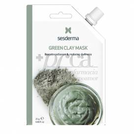 SESDERMA BEAUTYTREATS GREEN CLAY MASK 25 ML