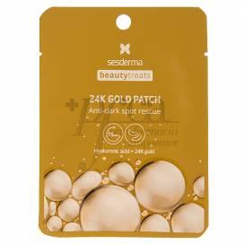 SESDERMA BEAUTYTREATS 24K GOLD PATCH 2 EINHEITEN
