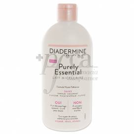 DIADERMINE PURELY ESSENTIAL MICELLAR MILK 400ML