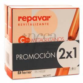 REPAVAR REVITALIZANTE FLASH EXTREME 10 AMPOULES PROMO