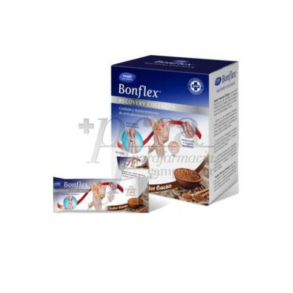 BONFLEX RECOVERY COLLAGEN CACAO 30 STICKS