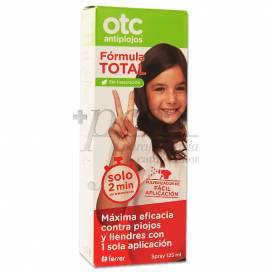 OTC ANTIPIOJOS FORMULA TOTAL SPRAY 125ML
