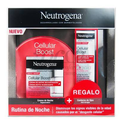 NEUTROGENA CELLULAR BOOST NIGHT CREAM + GIFT PROMO