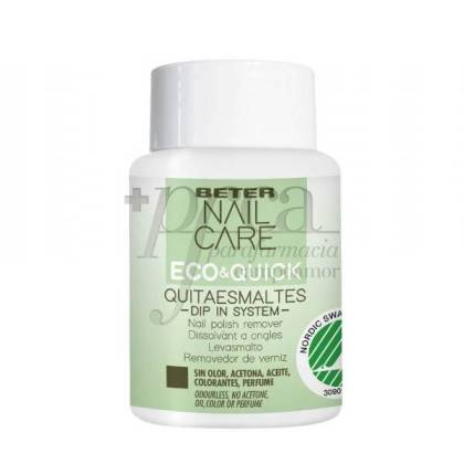 BETER ECO&QUICK NAIL POLISH REMOVER DIP IN SYSTEM 75ML