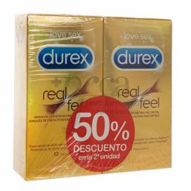 DUREX REAL FEEL PRESERVATIVO SIN LATEX 24U PROMO
