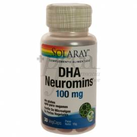 DHA NEUROMINS 100MG 30 PERLEN SOLARAY