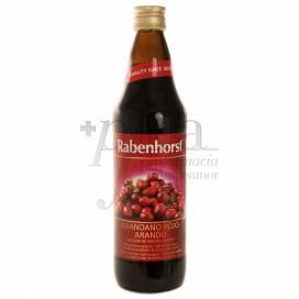 RABENHORST HEIDELBEERE SAFT 750 ML