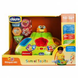 CHICCO SAM EL TOPITO 10-36M