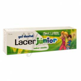 LACER JÚNIOR GEL DENTAL 75 ML MENTA