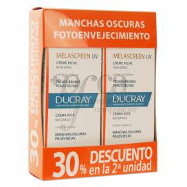 MELASCREEN UV SPF50 CREMA RICA 2X 40ML PROMO