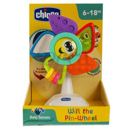 CHICCO WILL THE PIN-WHEEL 6-18M