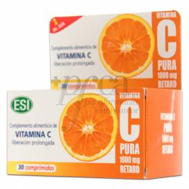 ESI PURE VITAMIN C RETARD 1000 MG 30 TABLETS
