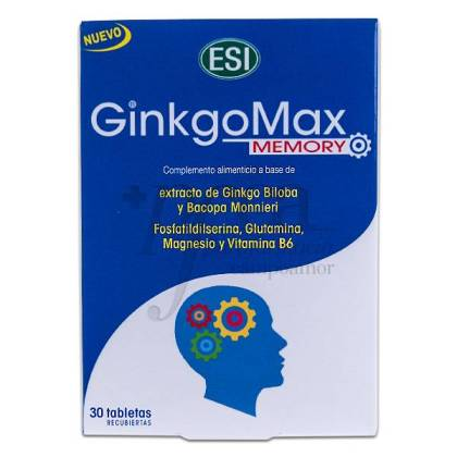 GINKGOMAX MEMORY 30 TABLETAS ESI