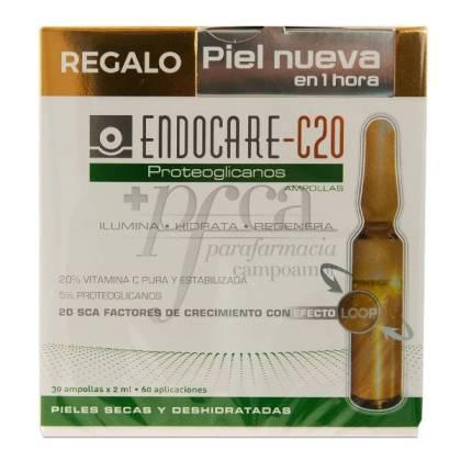 ENDOCARE C20 PROTEOGLICANOS 30 AMPULLEN + GESCHENK PROMO
