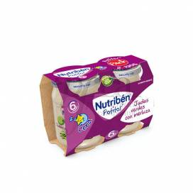 NUTRIBEN DIMMER GREEN BEANS AND HAKE 2X190 G