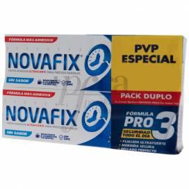 NOVAFIX FORMULA PRO 3 SEM SABOR 2X50 G PROMO