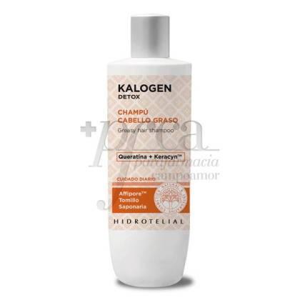 HIDROTELIAL KALOGEN DETOX SHAMPOO FOR OILY HAIR 400 ML