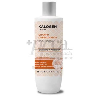 HIDROTELIAL KALOGEN DETOX SHAMPOO FOR DRY HAIR 400 ML
