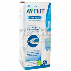AVENT FEEDING BOTTLE ANTI-COLIC WITH AIRFREE SYSTEM 260 ML 1M+