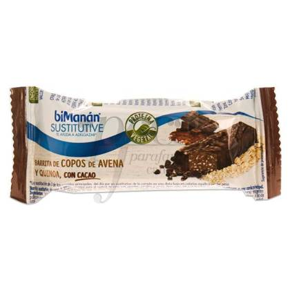 BIMANAN CACAO WITH OATS AND QUINOA BAR 34 G