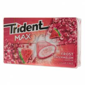 TRIDENT MAX WATERMELON 10 CHEWING GUMS