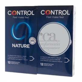 CONTROL NATURE 12+12 CONDOMS PROMO