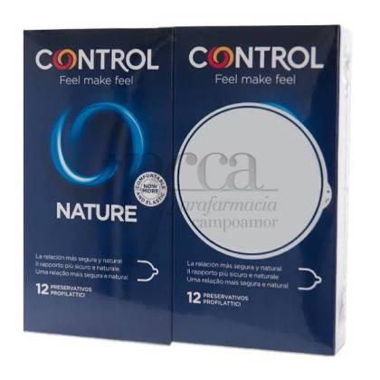 CONTROL NATURE 12+12 PRESERVATIVOS PROMO