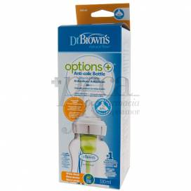 DR BROWNS BABY BOTTLE WIDE-NECK 300ML