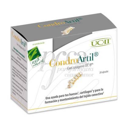 CONDROARTIL CON COLAGENO 30 CAPS 100% NATURAL