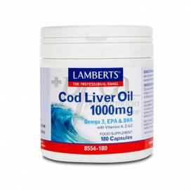 COD LIVER OIL 1000MG 180 CAPSULES LAMBERTS