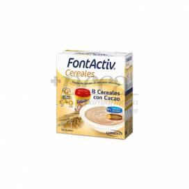 FONTACTIV 8 GETREIDE + CACAO 600 G