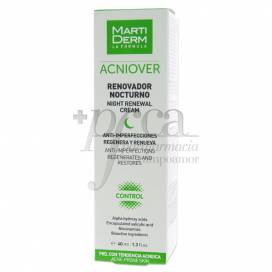 MARTIDERM ACNIOVER NIGHT RENEWAL CREME 40 ML