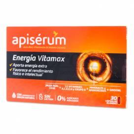 APISERUM ENERGIA VITAMAX 30 CÁPSULAS
