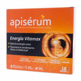 APISERUM ENERGIA VITAMAX 18 FRASCOS