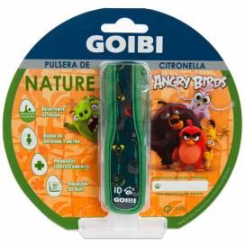 GOIBI CITRONELLA BRACELET NATURE ANGRY BIRDS GREEN