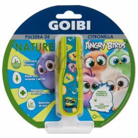 GOIBI CITRONELLA ARMBAND NATURE ANGRY BIRDS 1 EINHEIT