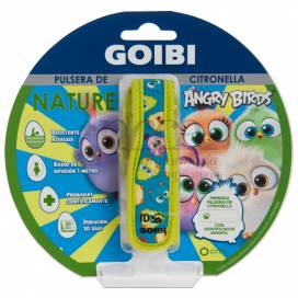GOIBI CITRONELLA BRACELET NATURE ANGRY BIRDS 1 UNIT