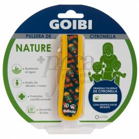 GOIBI CITRONELLA ARMBAND NATURE TIKI HAWAII 1 EINHEIT