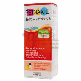 PEDIAKID FERRO + VITAMINA B 125 ML