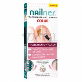 NAILNER TRATAMENTO ANTI FUNGOS COM COR 2X5 ML