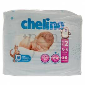 CHELINO DIAPERS SIZE 2 3-6KG 28 UNITS